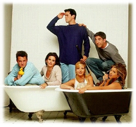 Friends in the Tub
